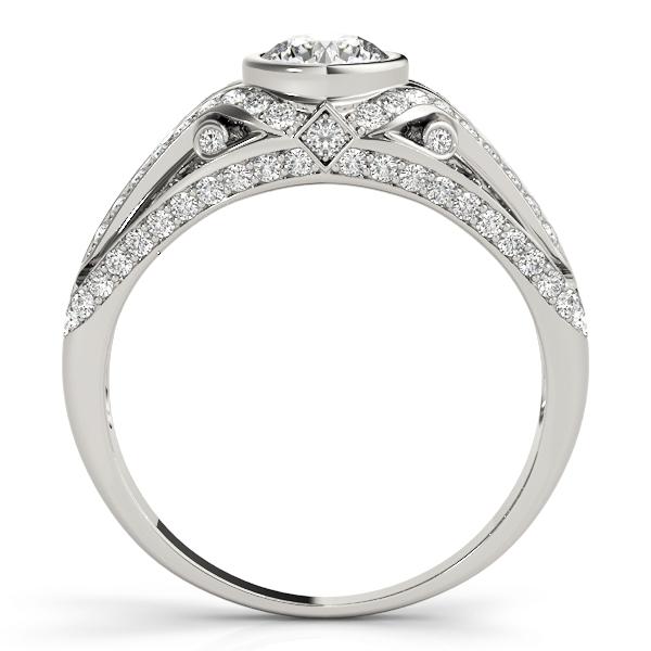 14k-white-gold-vintage-round-shape-diamond-engagement-ring-84892-14K-White-Gold
