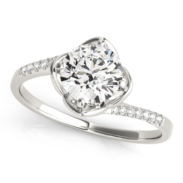 14k-white-gold-bypass-round-shape-diamond-engagement-ring-84896-14K-White-Gold