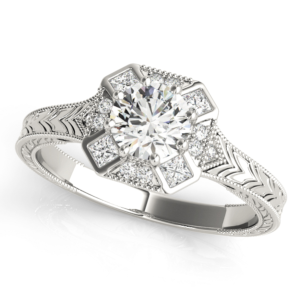 14k-white-gold-vintage-round-shape-diamond-engagement-ring-84897-1-14K-White-Gold