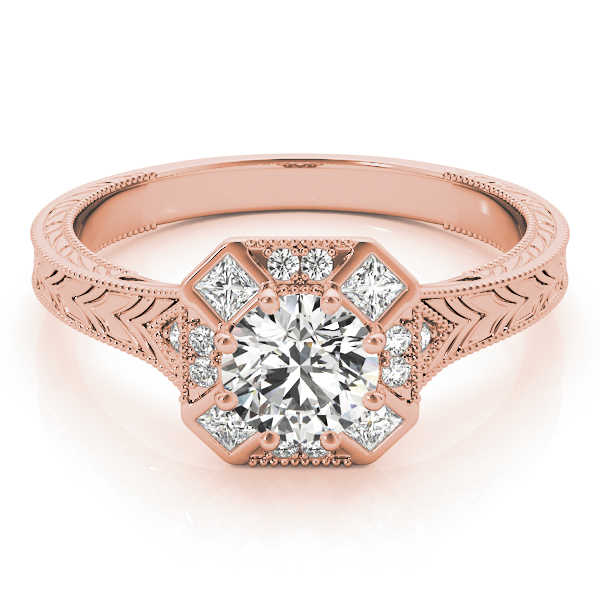 14k-rose-gold-vintage-round-shape-diamond-engagement-ring-84897-3-4-14K-Rose-Gold