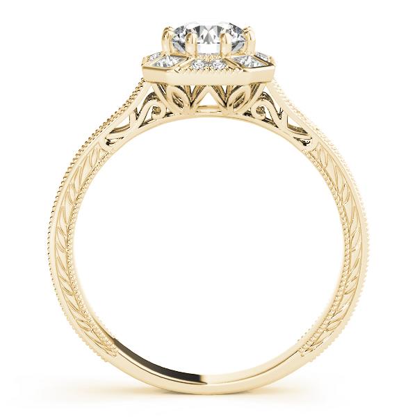 14k-yellow-gold-vintage-round-shape-diamond-engagement-ring-84897-3-4-14K-Yellow-Gold