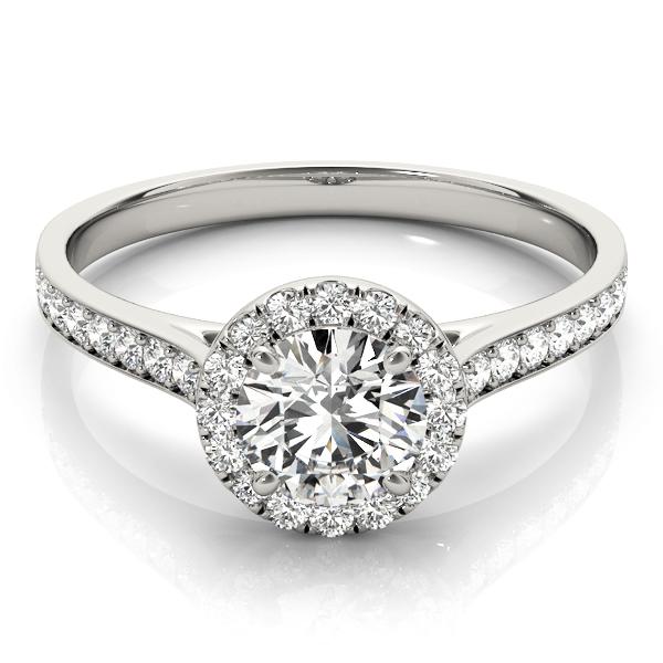 14k-white-gold-halo-round-shape-diamond-engagement-ring-84902-14K-White-Gold