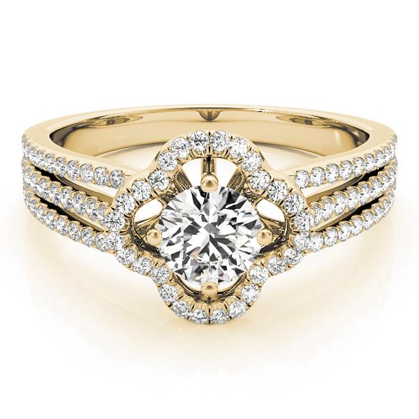 18k-yellow-gold-multirow-round-shape-diamond-engagement-ring-84903-18K-Yellow-Gold