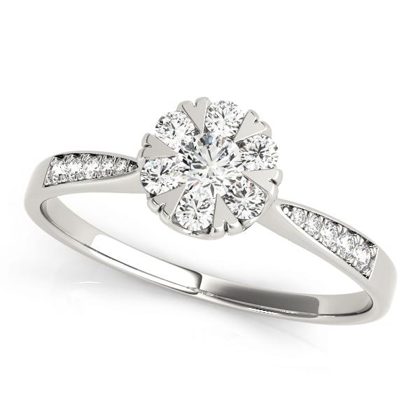 14k-white-gold-halo-round-shape-diamond-engagement-ring-84904-14K-White-Gold