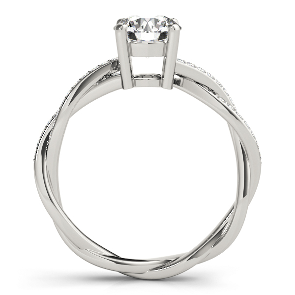14k-white-gold-multirow-round-shape-diamond-engagement-ring-84905-14K-White-Gold