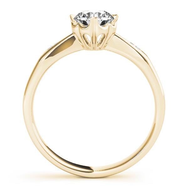 14k-yellow-gold-single-row-round-shape-diamond-engagement-ring-84906-14K-Yellow-Gold