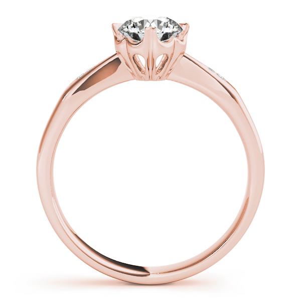 18k-rose-gold-single-row-round-shape-diamond-engagement-ring-84906-18K-Rose-Gold