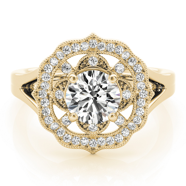 14k-yellow-gold-halo-round-shape-diamond-engagement-ring-84911-14K-Yellow-Gold