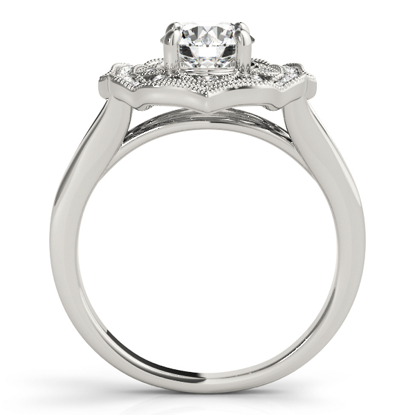 14k-white-gold-halo-round-shape-diamond-engagement-ring-84911-14K-White-Gold