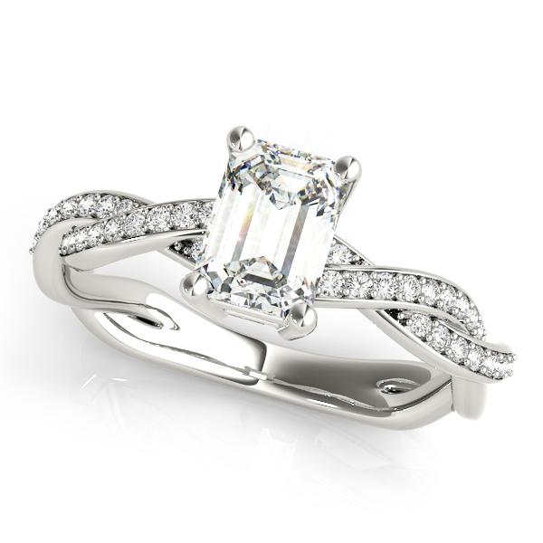 14k-white-gold-multirow-emerald-shape-diamond-engagement-ring-85001-7X5-14K-White-Gold