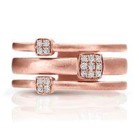 14kt Rose Gold Fashion Ring