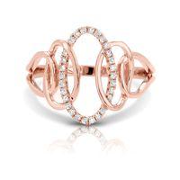 14k Rose Gold Fashion Ring