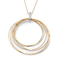 18K Yellow Gold Fashion Diamond Necklace