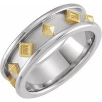 14K Yellow Etruscan-Style Band