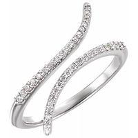 Platinum 1/6 CTW Diamond Ring